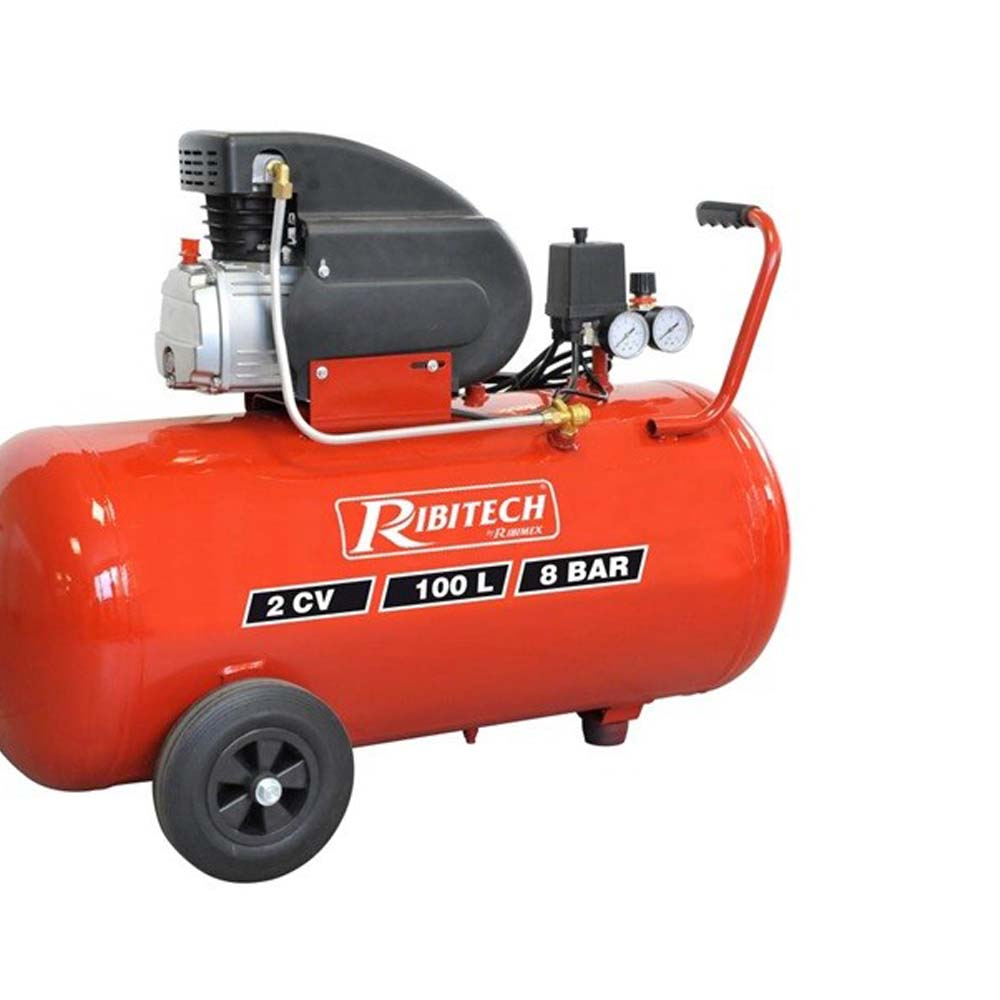 Compresseur d'air 100L Ribitech